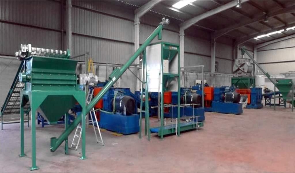 Уникальный Start Up Производственная линия переработки шин с извлечением каучуко содержащего сырья